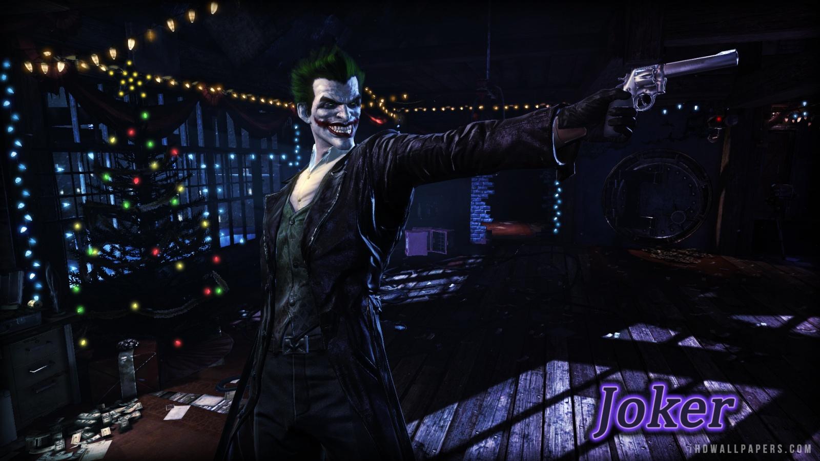 Batman Arkham Origins Joker HD Wallpaper   iHD Wallpapers 1600x900