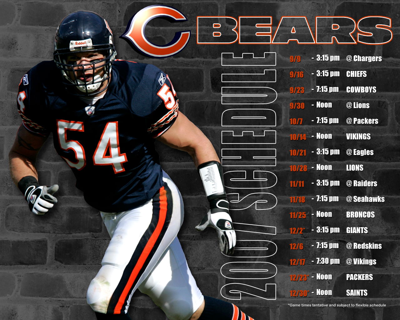 Chicago Bears wallpaper HD desktop wallpaper Chicago Bears 1280x1024