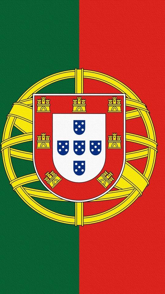 Download wallpaper 540x960 emblem portugal flag samsung galaxy 540x960