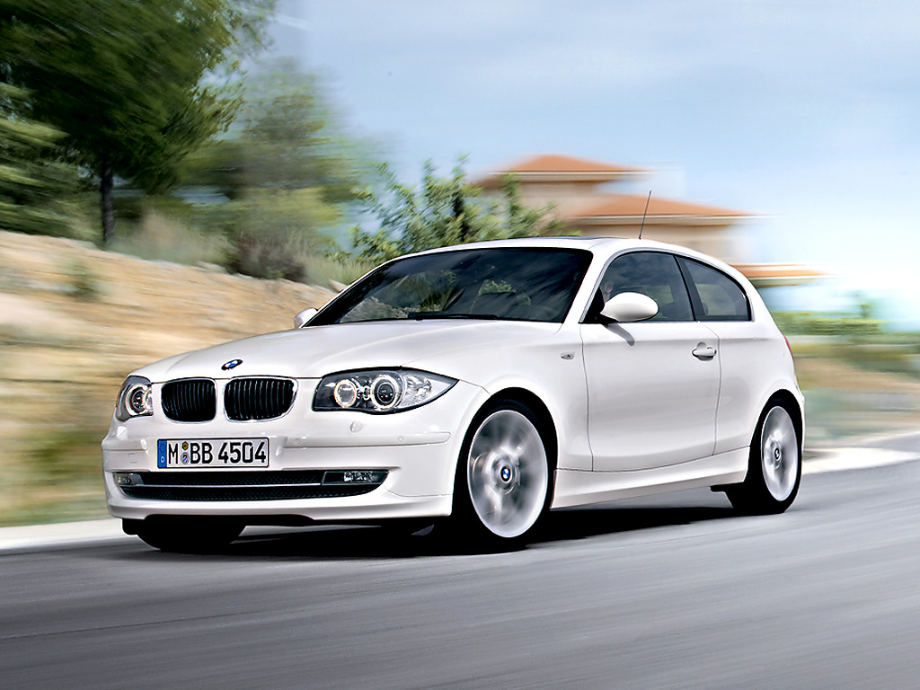 The BMW 1 Series Three   Door Wallpapers For PC BMW Automobiles 1024x768