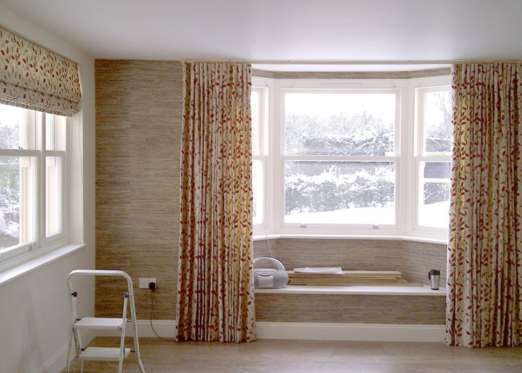 Matching Curtains Blinds And Wallpaper   Functionalities.net
