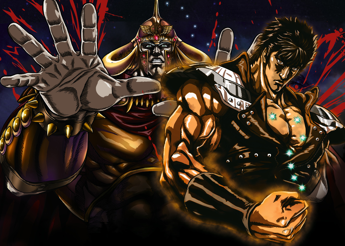 Japanese wallpapers Fist of the North Star   Hokuto no Ken wallpapers 1400x1000
