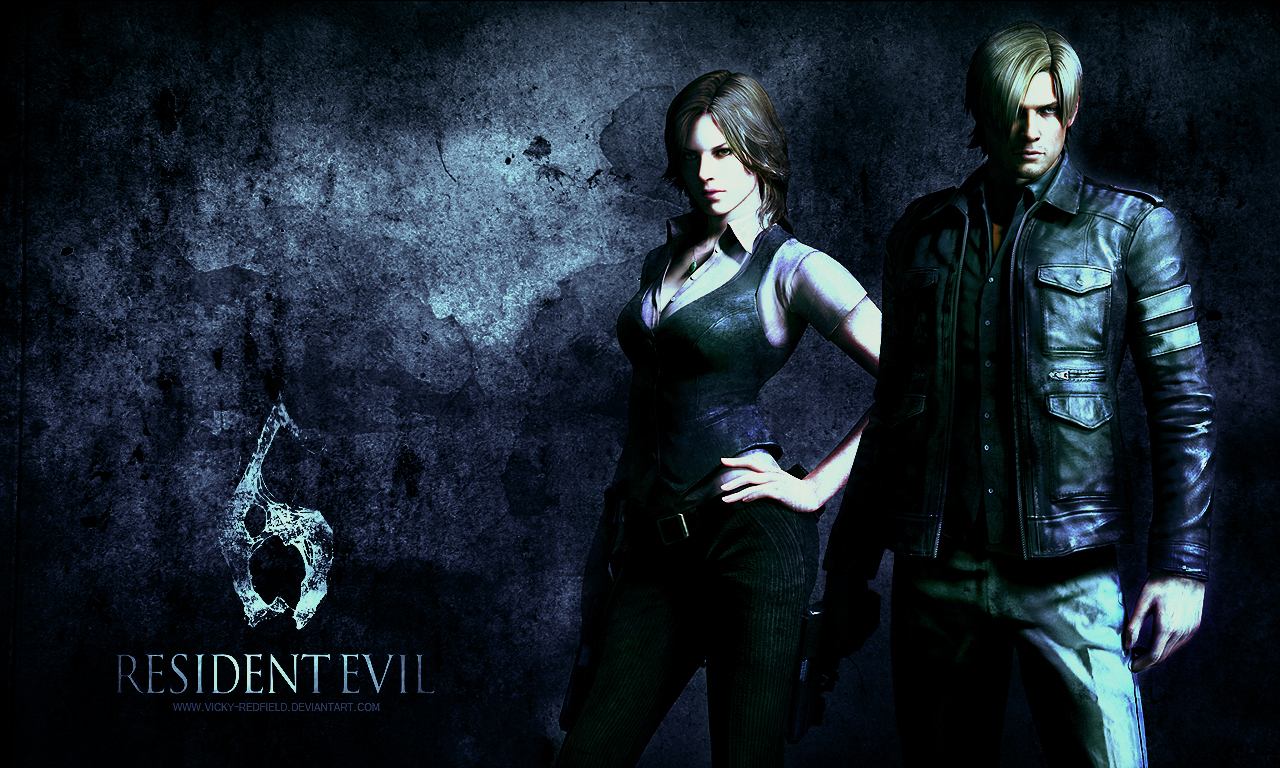 Free Download Resident Evil 6 Leon Wallpaper 1280x768 For Your