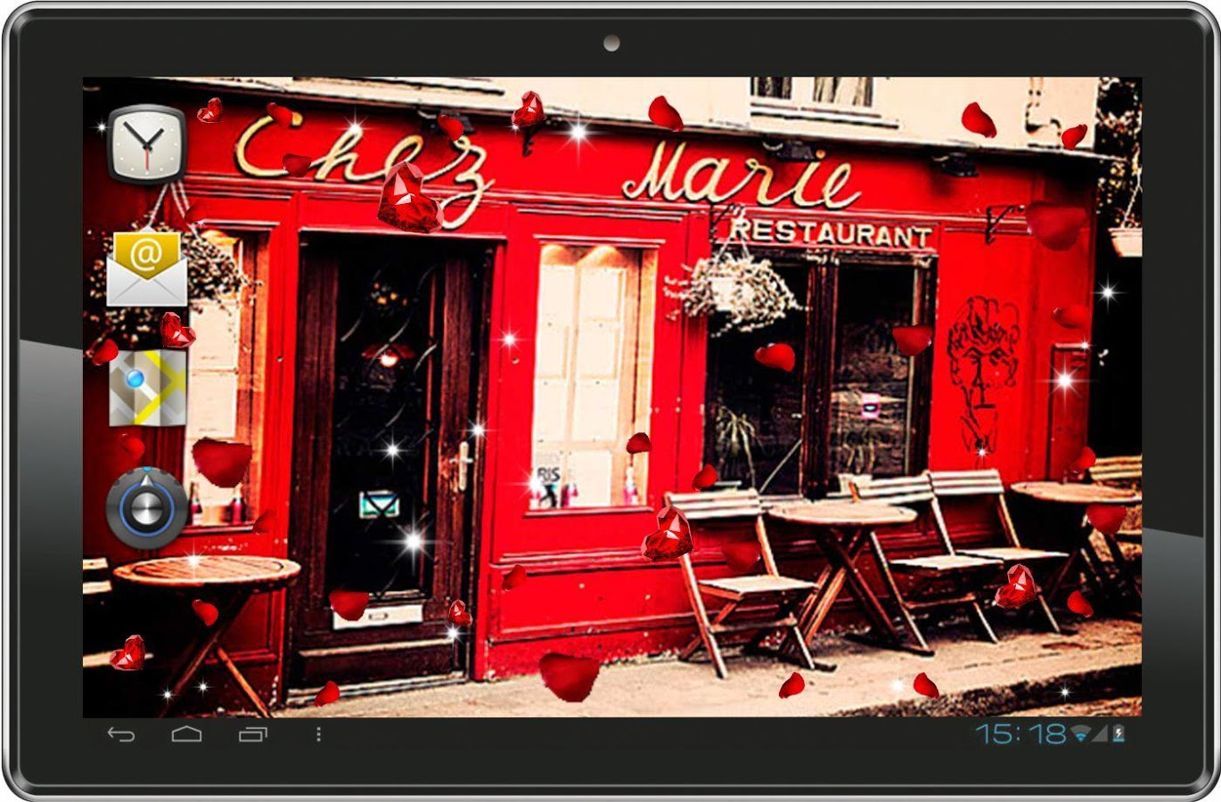 Paris Cafe HD live wallpaper   Android Apps on Google Play 1370x900
