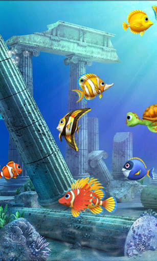 Magic Fish Aquarium Live Wallpaper Software Download 307x512
