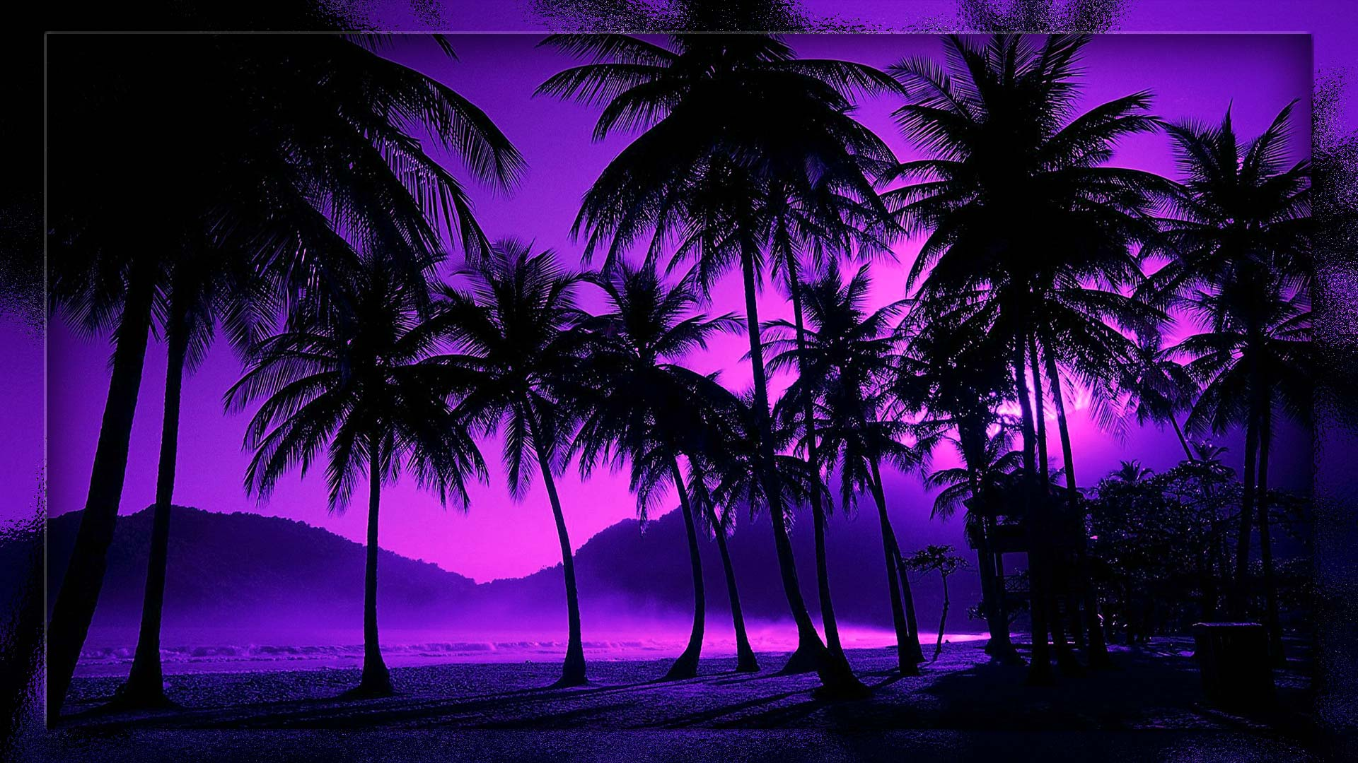 Night Beach Wallpapers 80 1920x1080