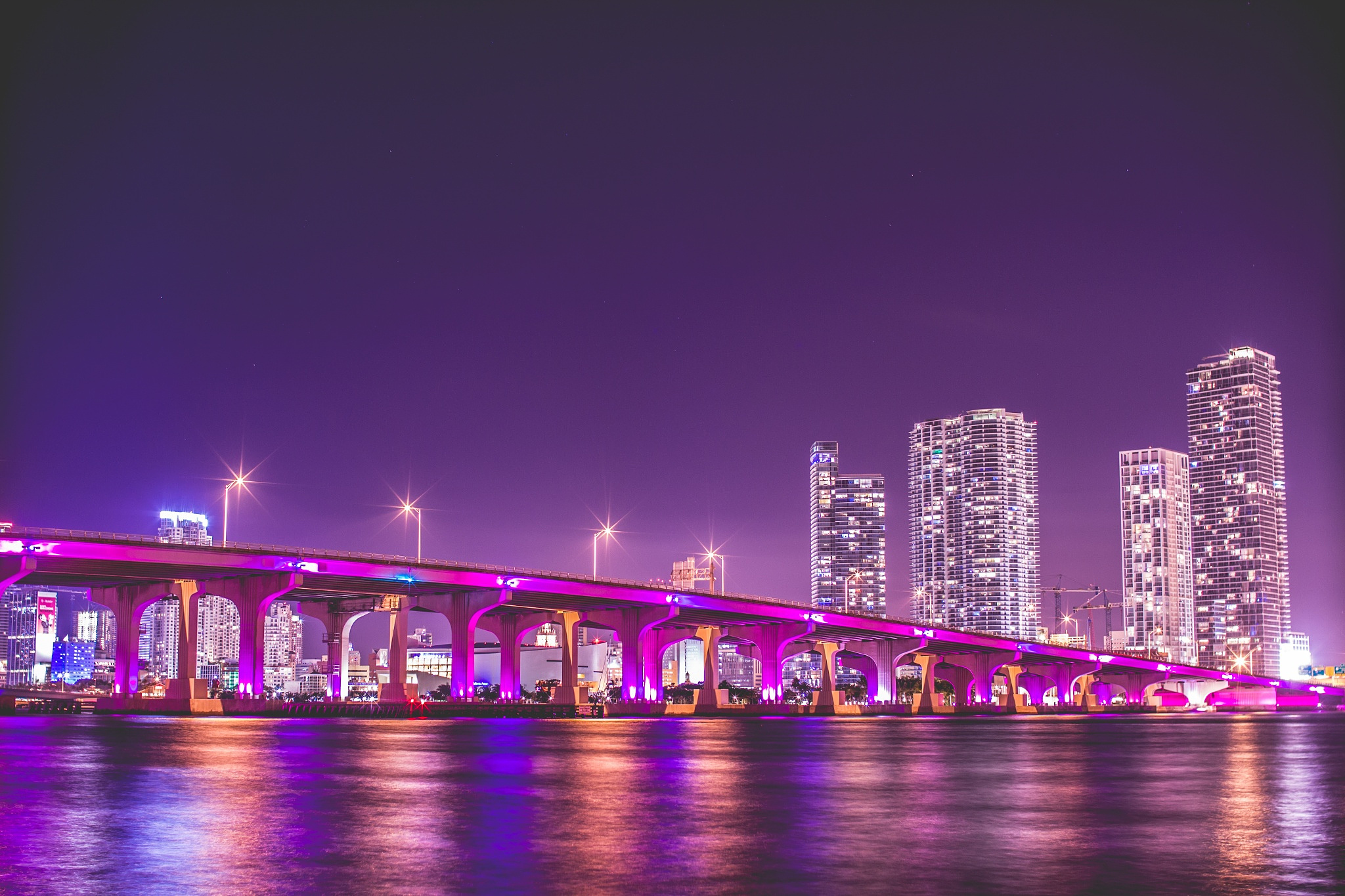 Free Download Miami Wallpapers The City Skyline Across The Beach 2048x1365 For Your Desktop Mobile Tablet Explore 72 Miami Desktop Wallpaper Miami Heat Desktop Wallpaper University Of Miami Wallpaper