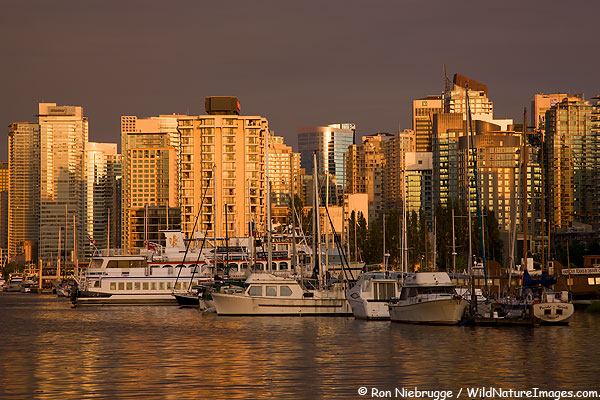 Vancouver Skyline Pictures 600x400