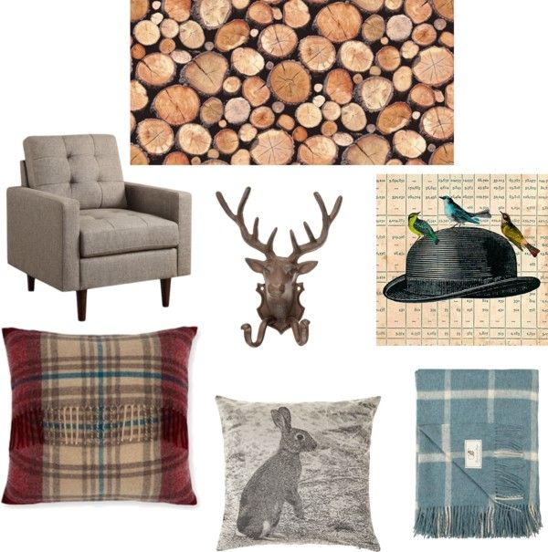 logs wallpaper ideal for a gentlemans lounge look in your home 600x605