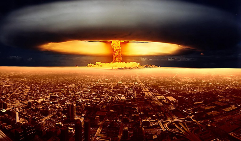 Nuclear Explosion Wallpapers Hd 1024x600