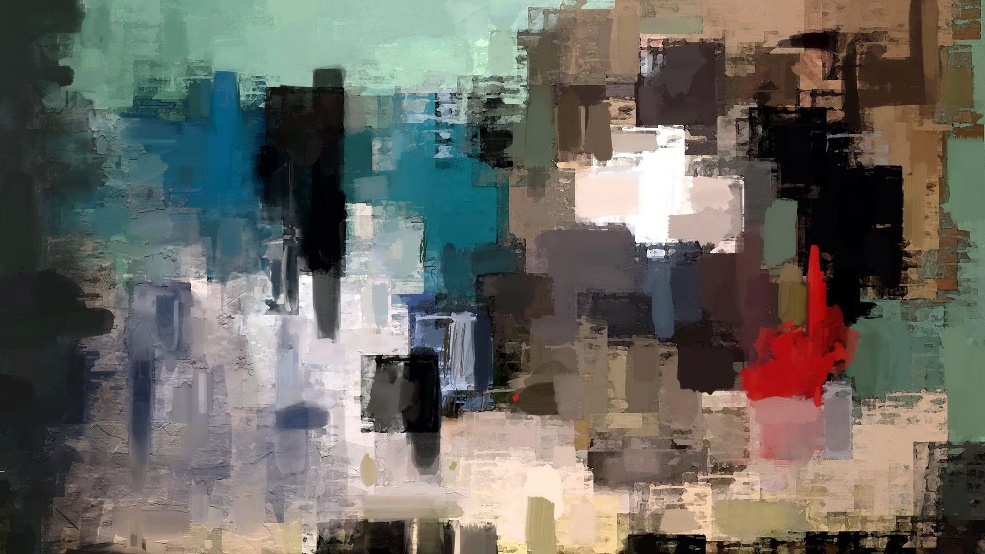 Abstract painting wallpaper 22783 1920x1080