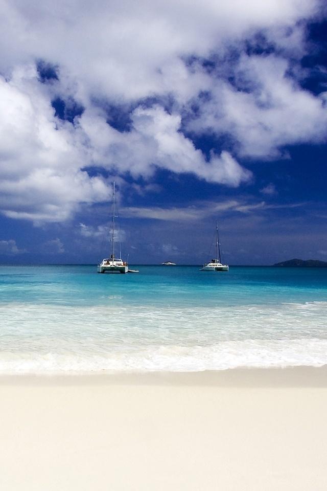 free hd wallpapers for desktop: 640x960 sea beach wallpapers HD