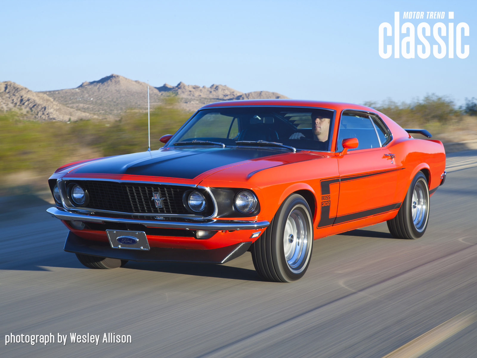 1969 Ford Mustang Boss 302 Wallpaper Gallery Photo Gallery   Motor 1600x1200