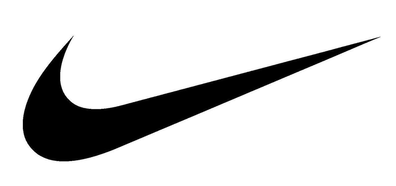 nike logo greyscale minimal hd wallpaper nike tick logo by 1280x603