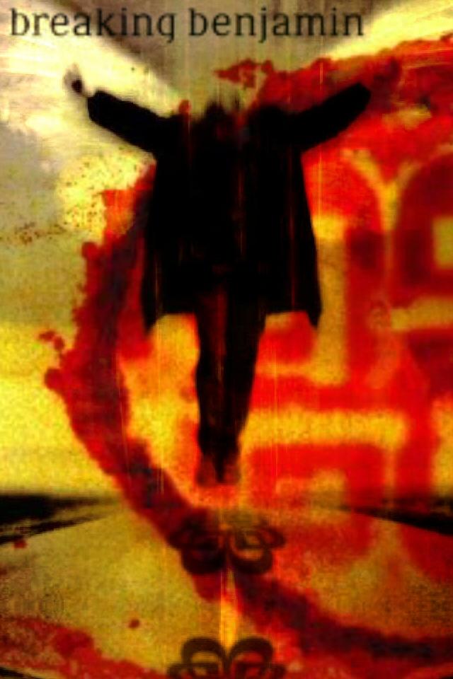 Breaking Benjamin Iphone Wallpaper Breaking benjamin burnt by 640x960