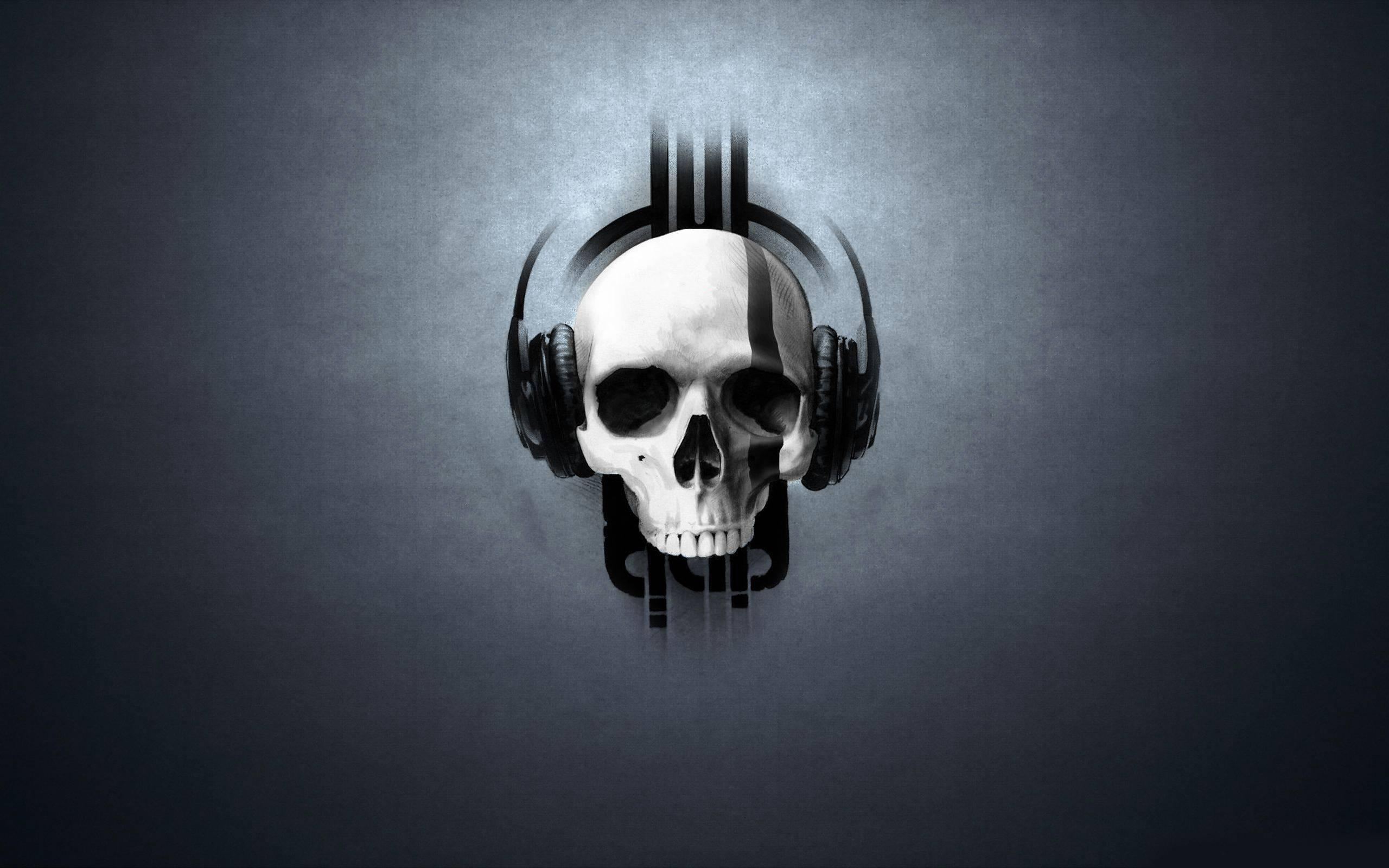 3D Skull Wallpapers 2560x1600