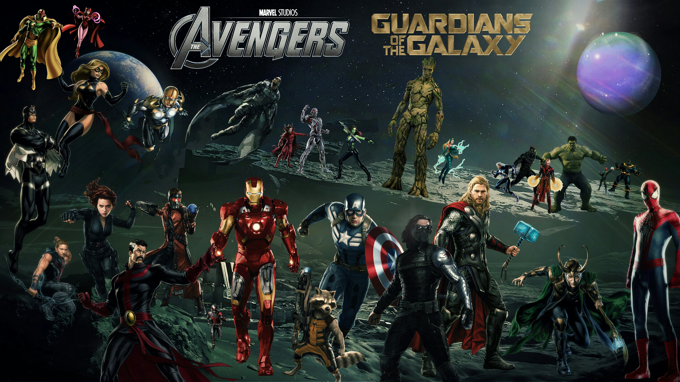 Marvel Cinematic Universe Wallpaper by Theincrediblejake 2880x1620