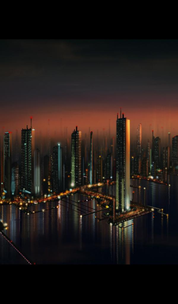 [35+] HD Future Cityscape Wallpaper On WallpaperSafari