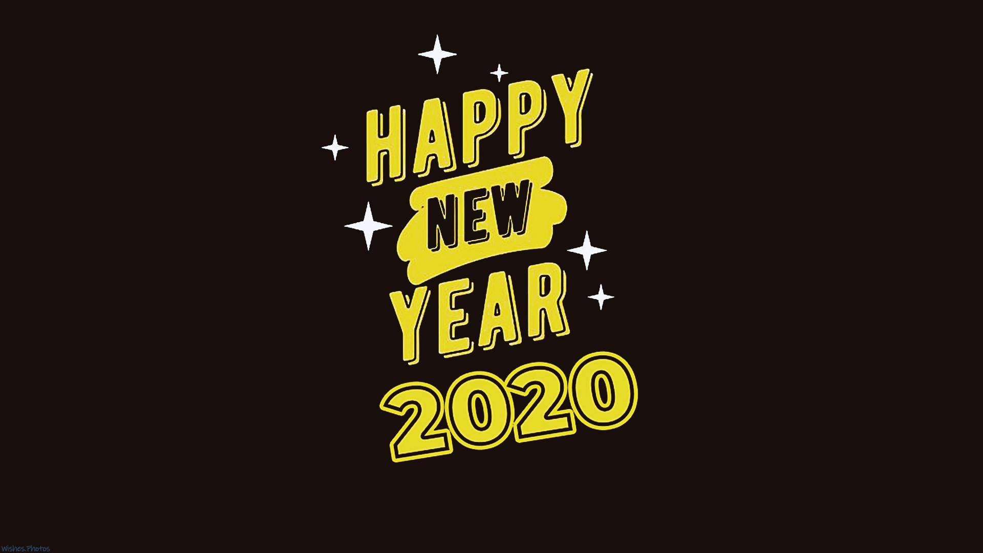 Happy New Year 2020 Full HD Wallpapers Download For PC   WishesPhotos 1920x1080