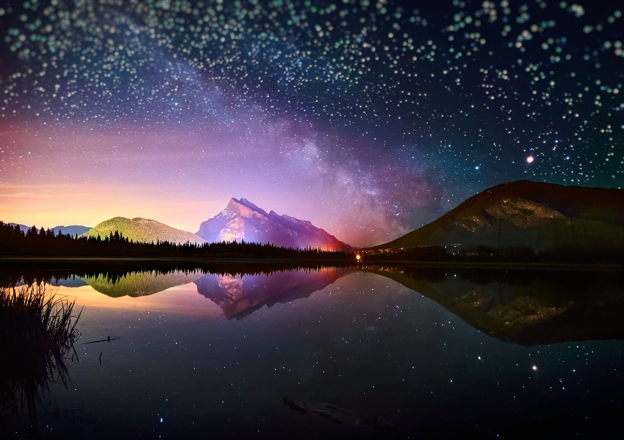 im73 Night Sky HD Wallpaper 2040x1440 px   Picseriocom 2040x1440