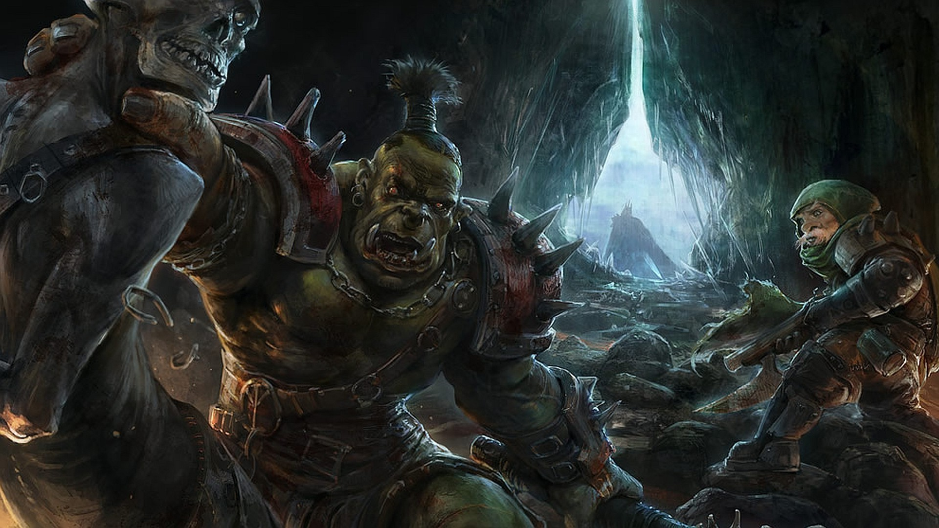Fighting off the orcs wallpaper   1055902 1920x1080