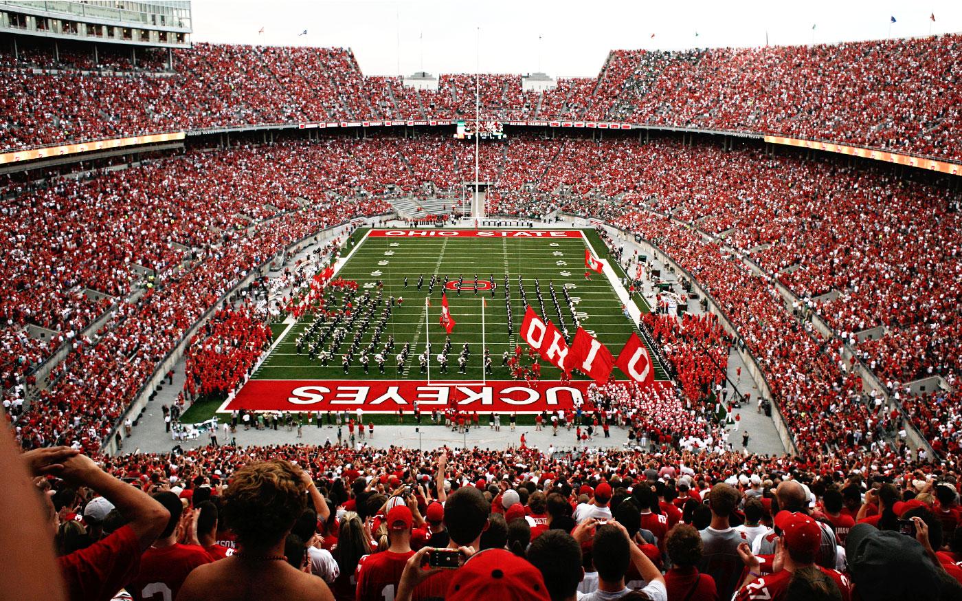 Ohio State Football Wallpaper >> Ohio Stadium Desktop Wallpaper - WallpaperSafari