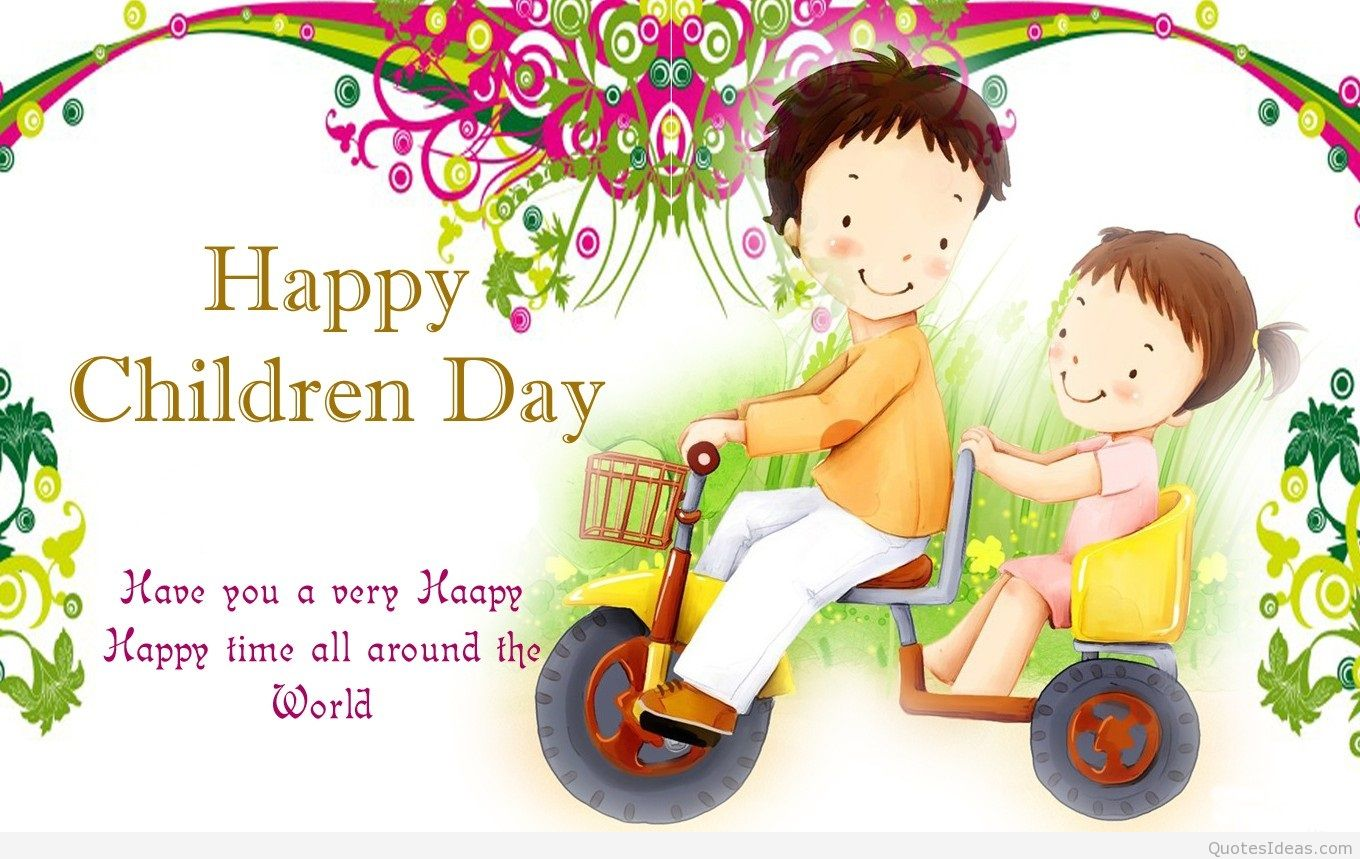80 Most Beautiful Childrens Day Wish Pictures And Images 1360x859