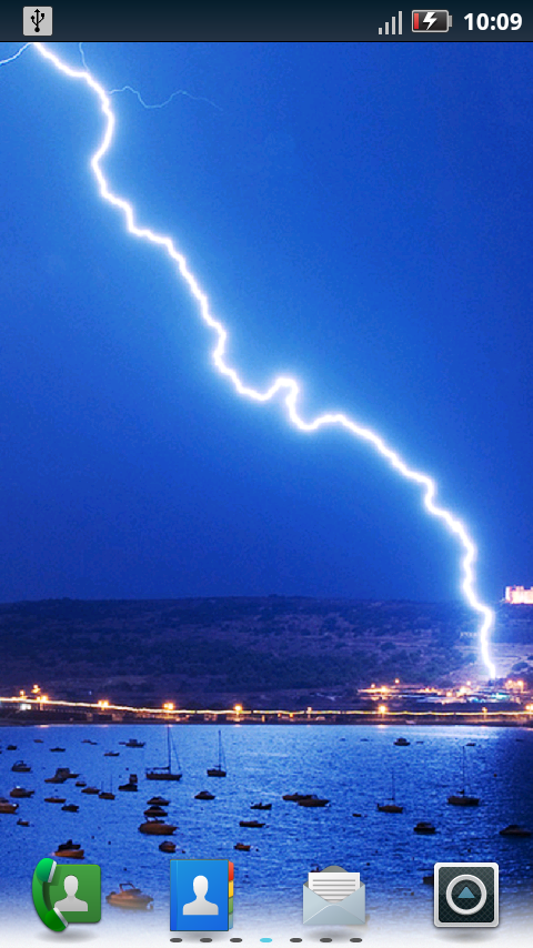 lightning live wallpaper for iphone 480x854