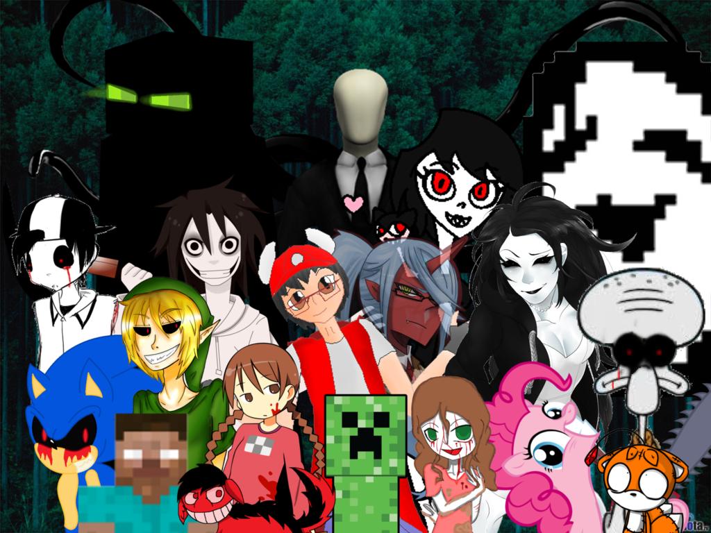 Familia Creepypasta 12 by juakoelgrande20 1024x768
