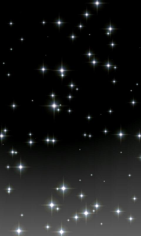 the glittering live wallpaper function number of glitter size speed 480x800