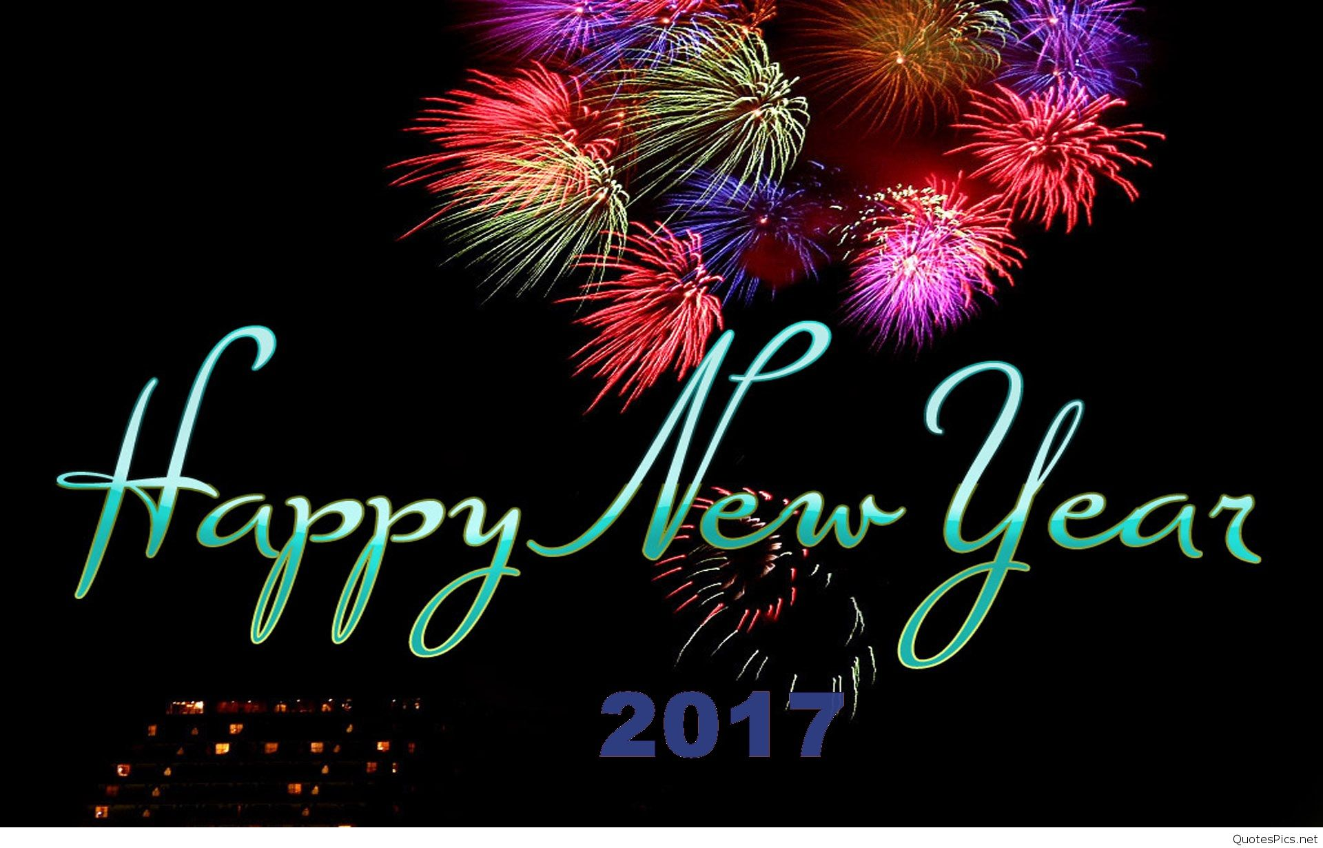 Happy new year wallpapers 2017   QuotesPics 1920x1230