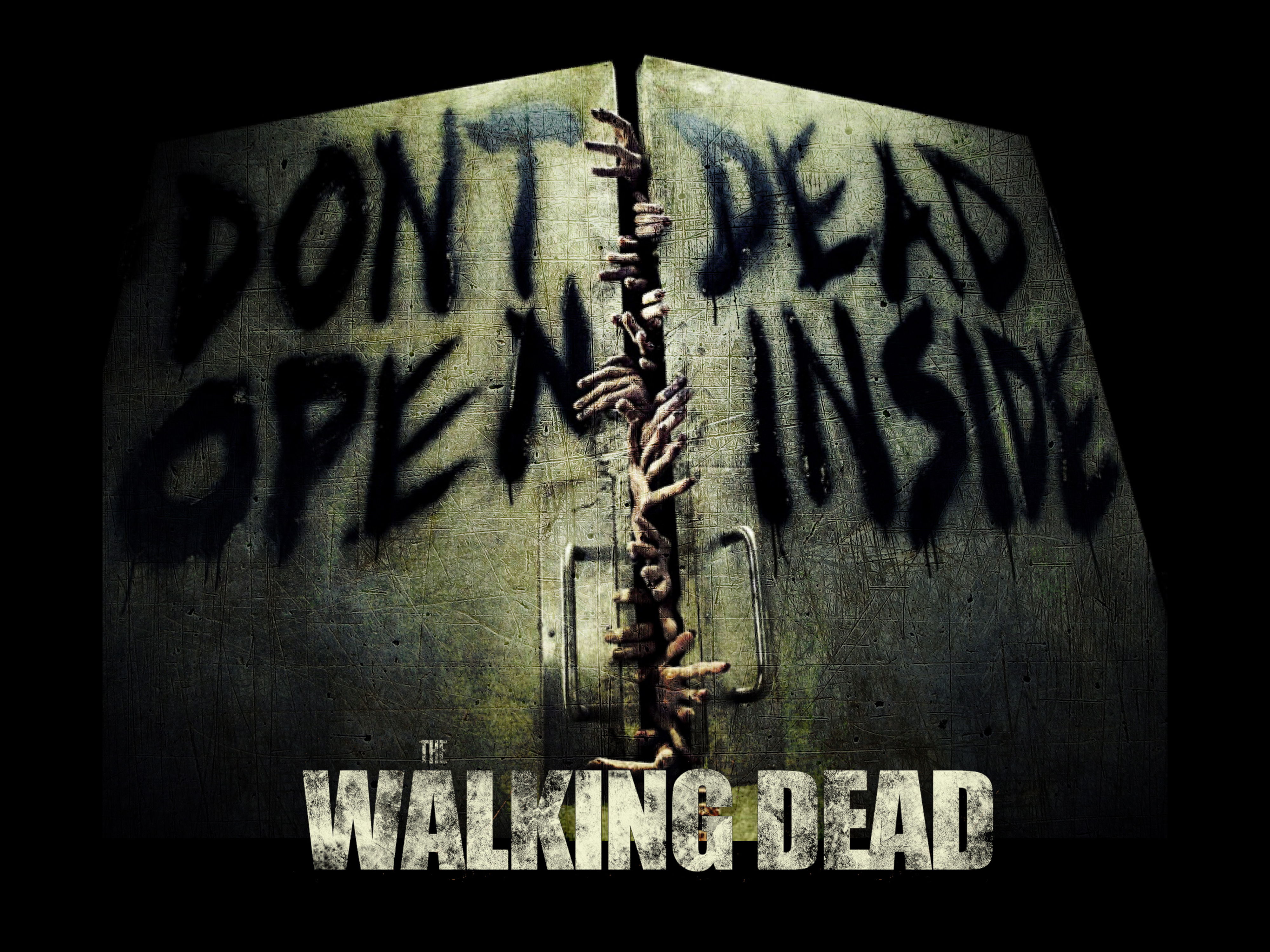 The Walking Dead wallpaper the walking dead 013jpg 4000x3000