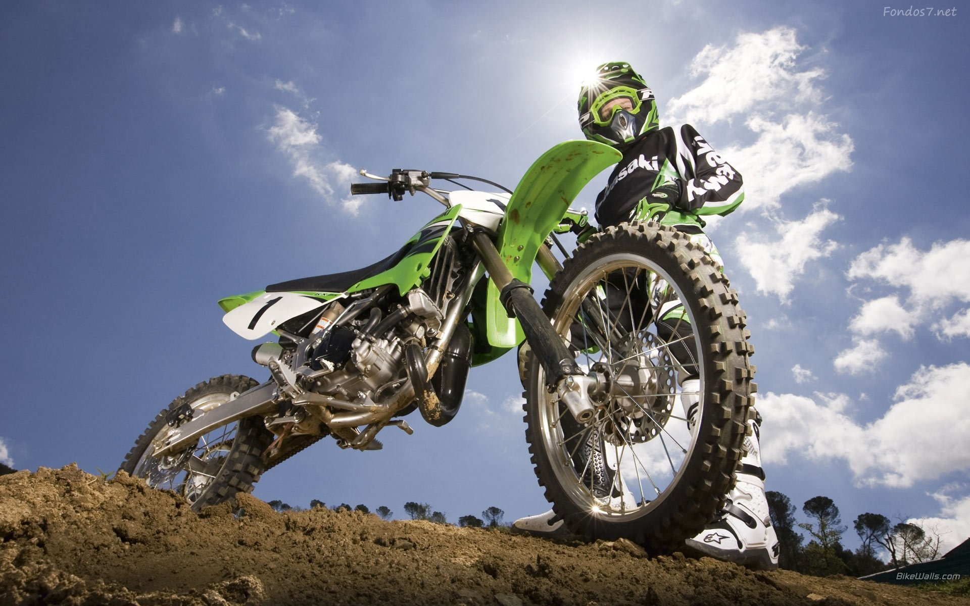 Bike Motocross Widescreen Original wallpapers HD   150181 1920x1200