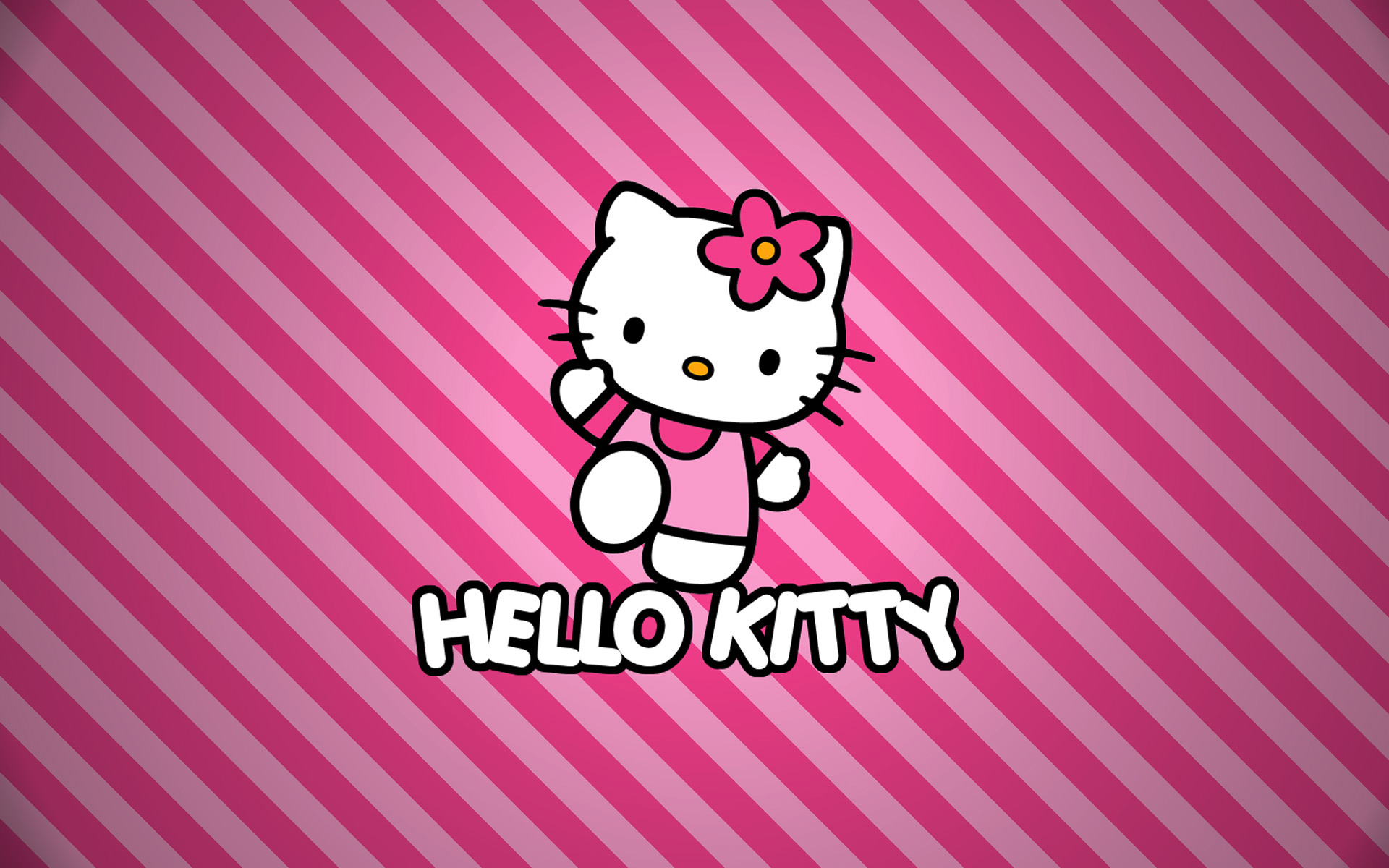 Hello Kitty Wallpaper Pink wallpaper   217942 1920x1200