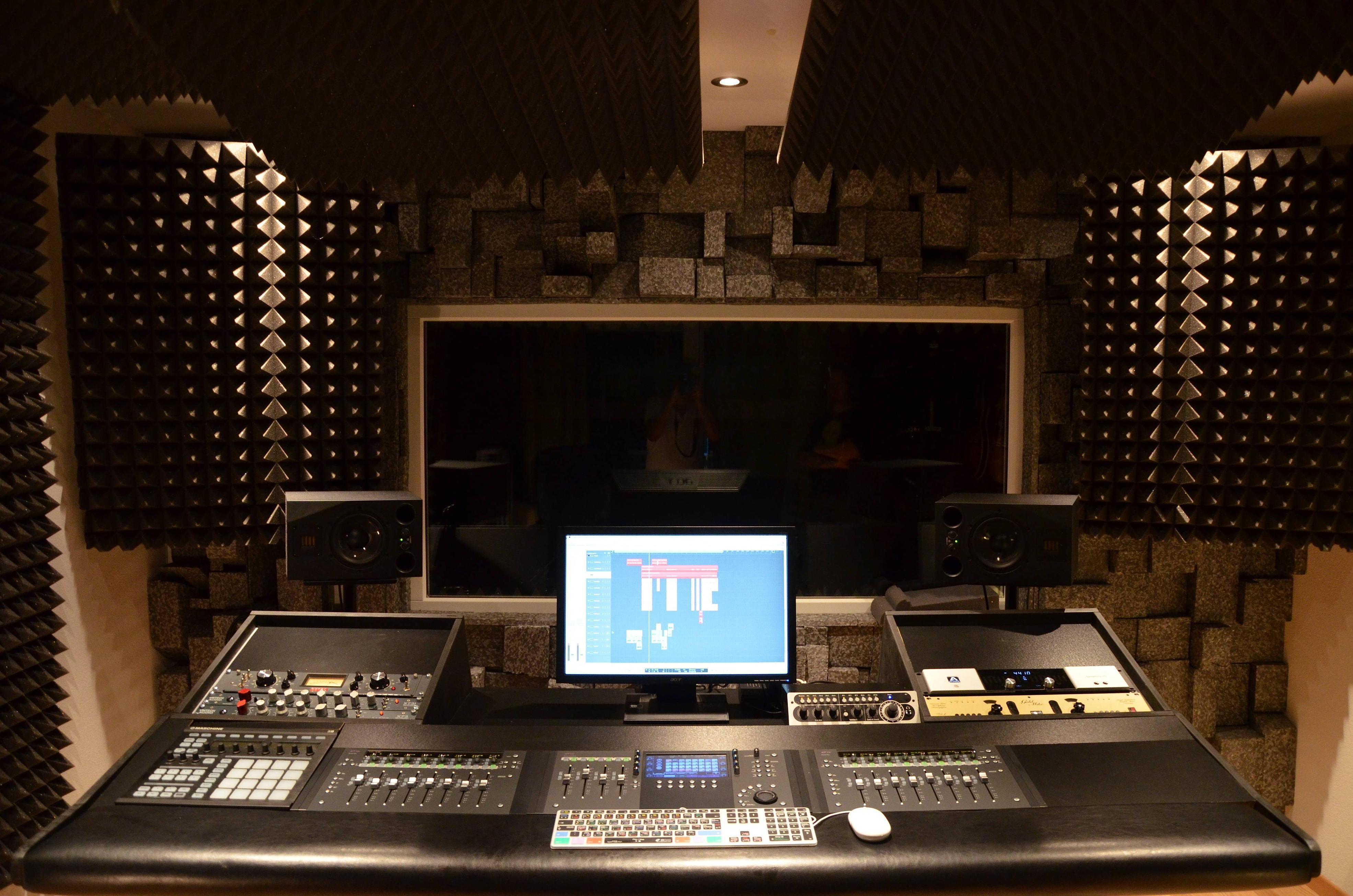 Recording Studio Wallpapers 3942x2611