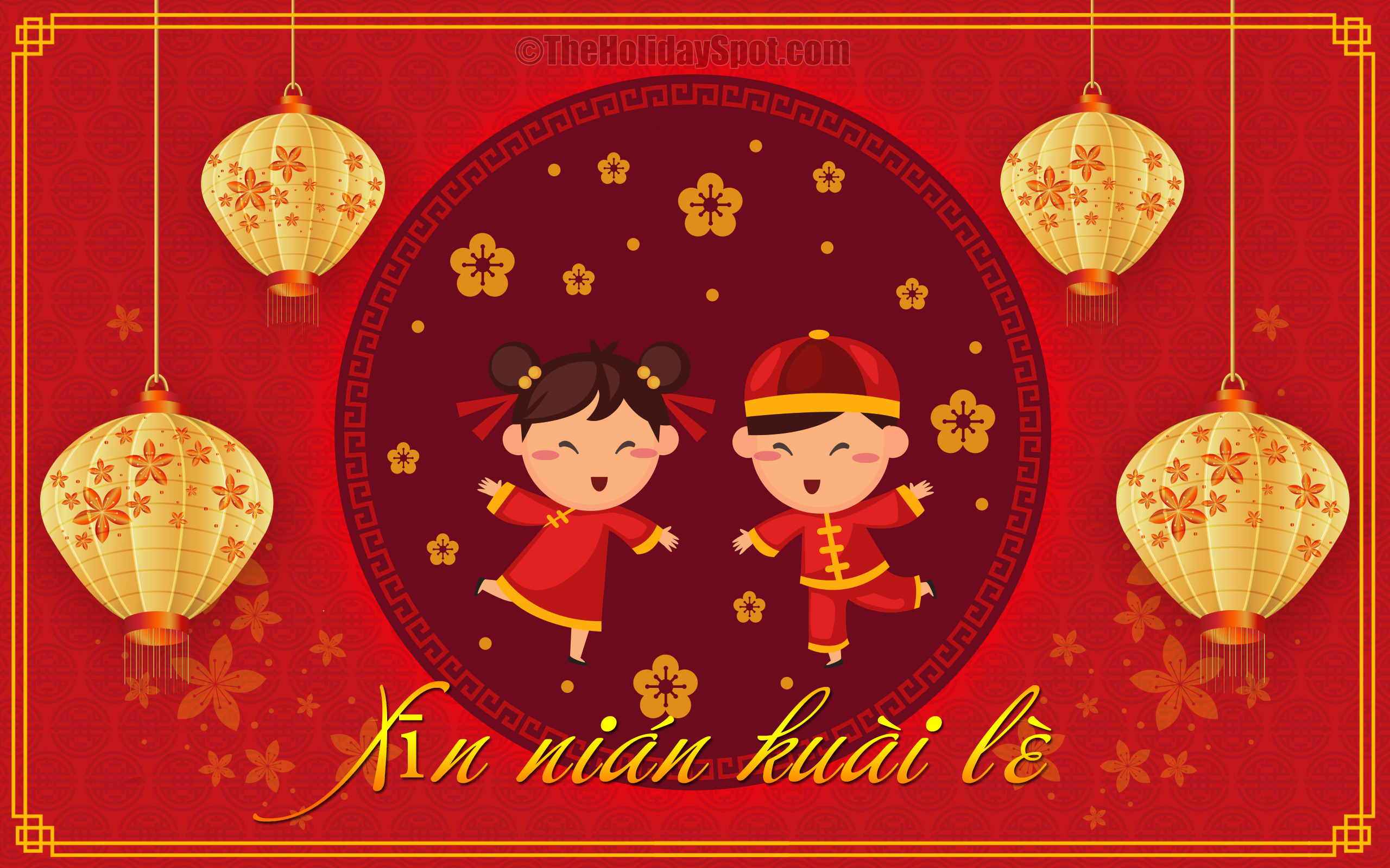 Chinese New Year wallpapers at TheHolidaySpot 2560x1600
