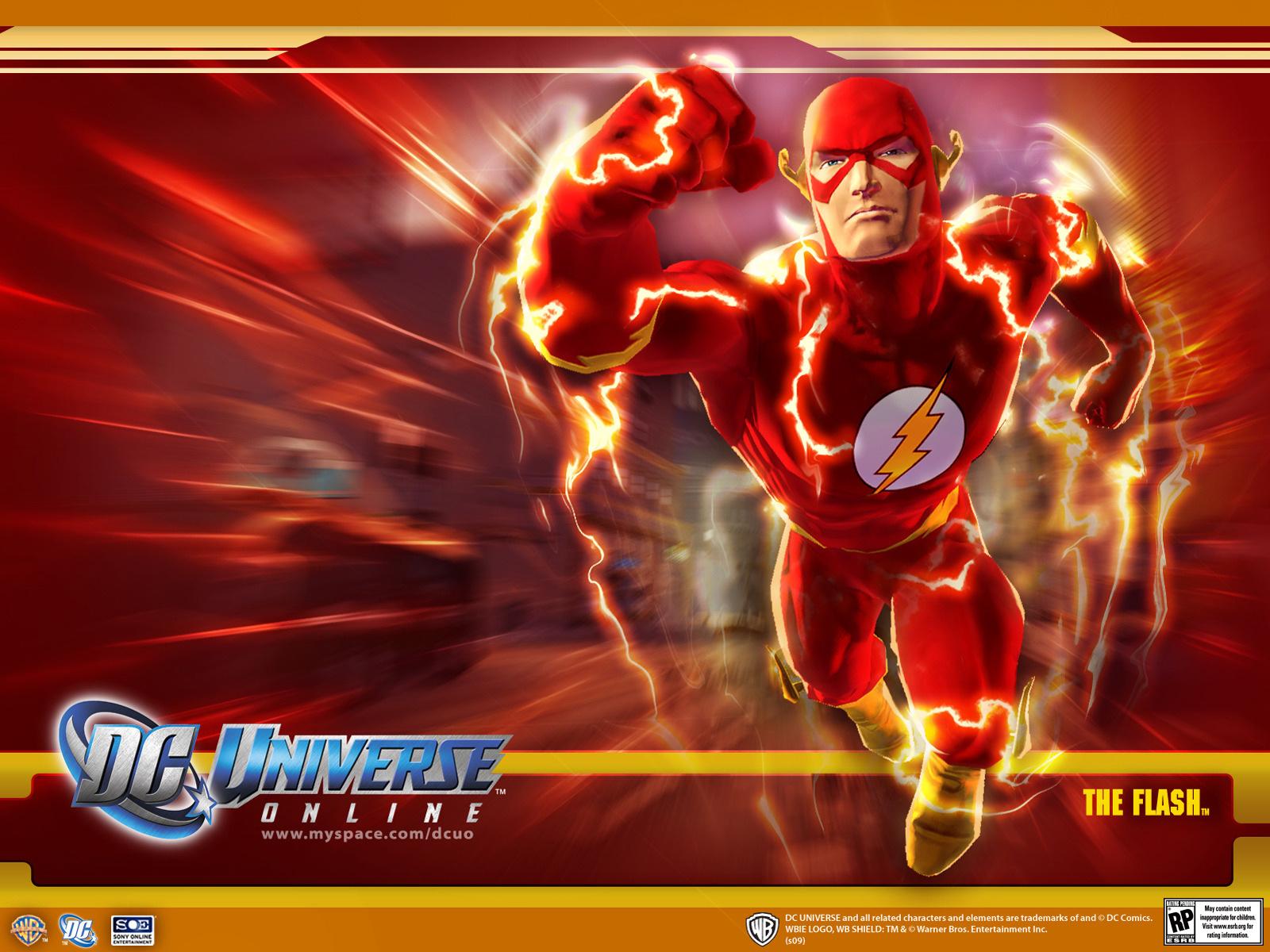 Flash   Superhero Games Wallpaper Image featuring Dc Universe Online 1600x1200