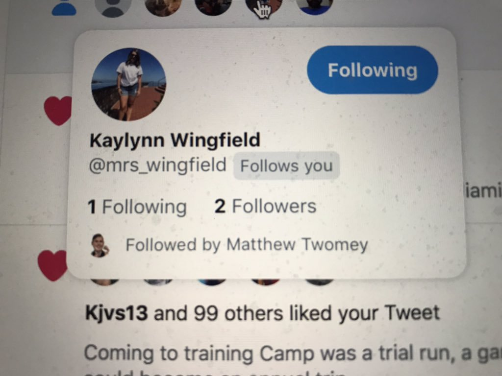 Travis Wingfield on Twitter She told me shed get on Twitter and 1024x768