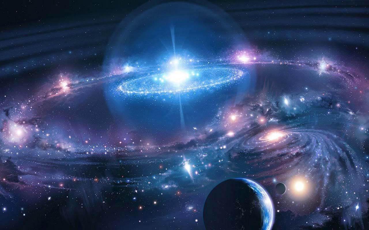Galaxies in the Universe Wallpaper - WallpaperSafari