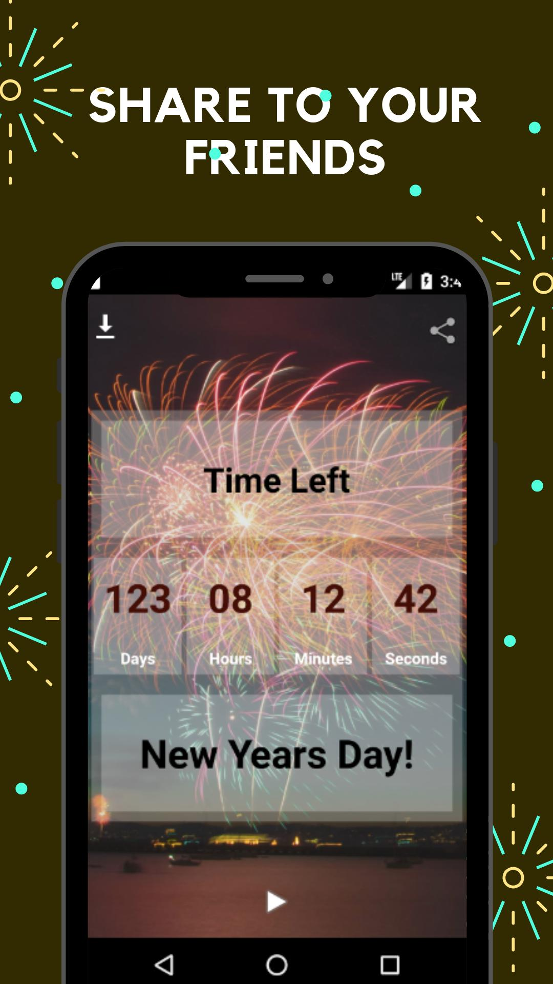 2020 New Year Countdown Wallpaper for Android   APK Download 1080x1920
