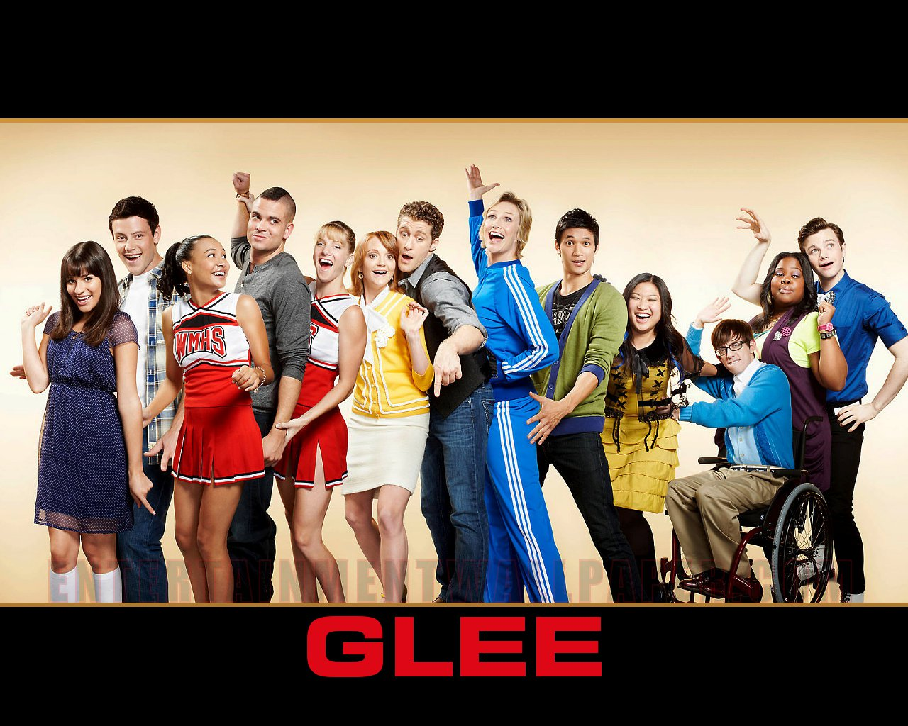 tv show glee wallpaper 20029860 size 1280x1024 more glee wallpaper 1280x1024