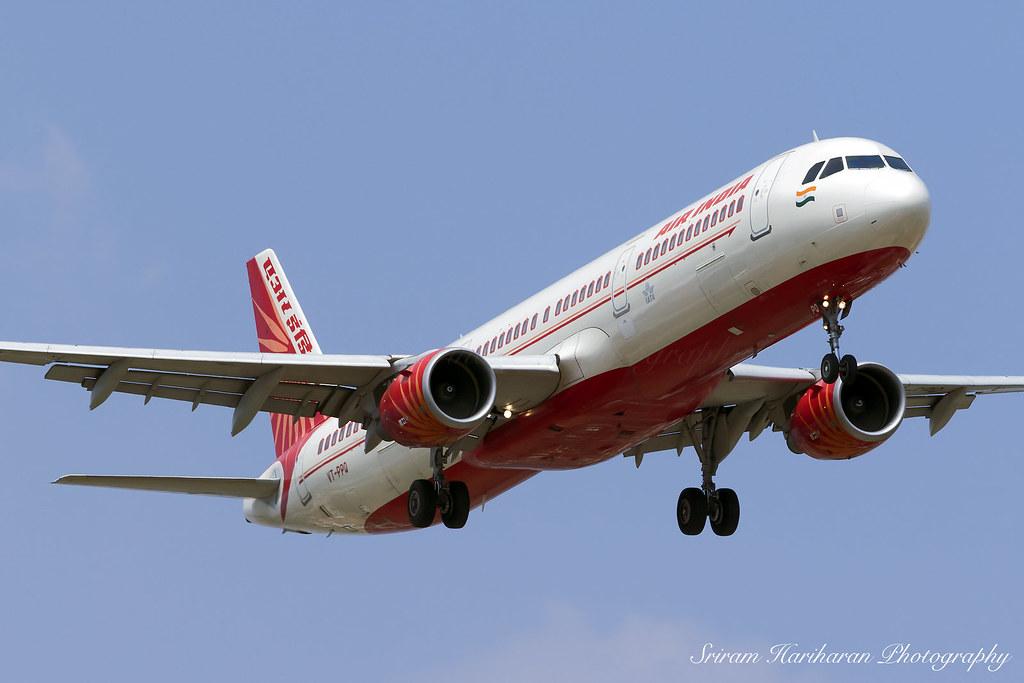 Air India Airbus A321 211 Vt Ppq   A321 Hd Wallpapers 1024x683