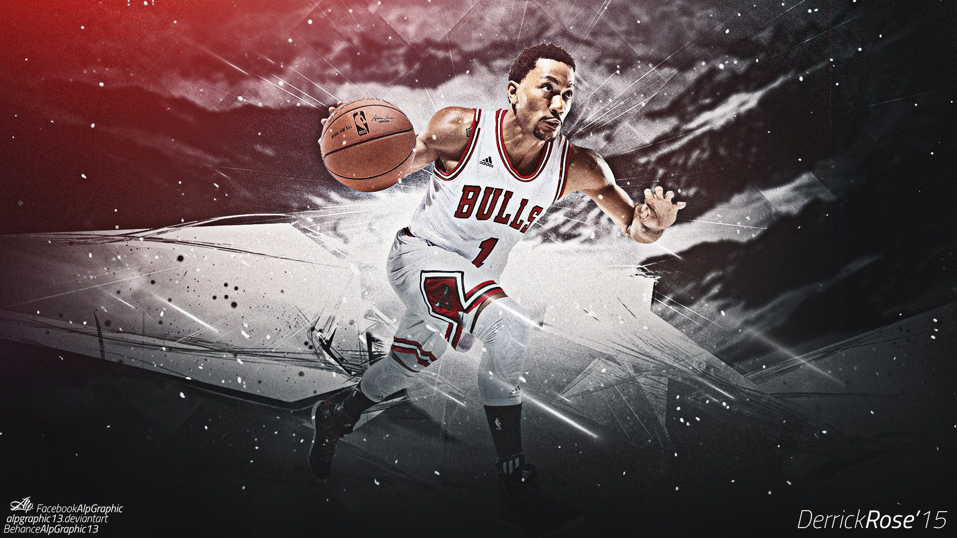 Derrick Rose Wallpapers 2015 HD 1920x1080