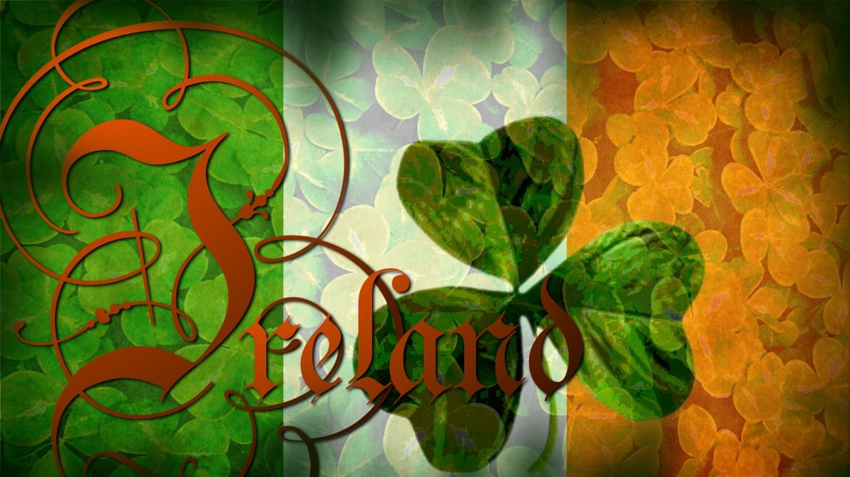 Flag of Ireland Wallpaper by grednforgesgirl 1192x670