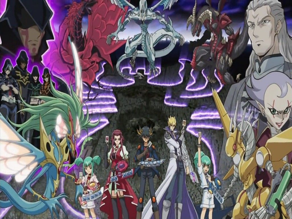 Yu Gi Oh 5Ds Wallpapers 1024x768