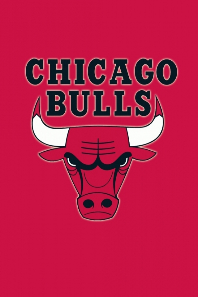 Chicago Bulls iPhone 4s Wallpaper 640x960