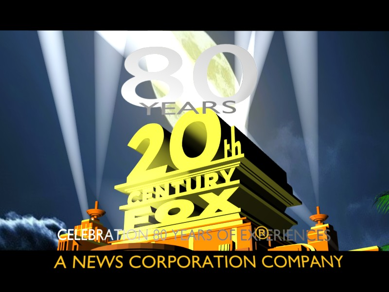 20th Century Fox 80 Years Logo DREAM LOGO by RSMoor 800x600