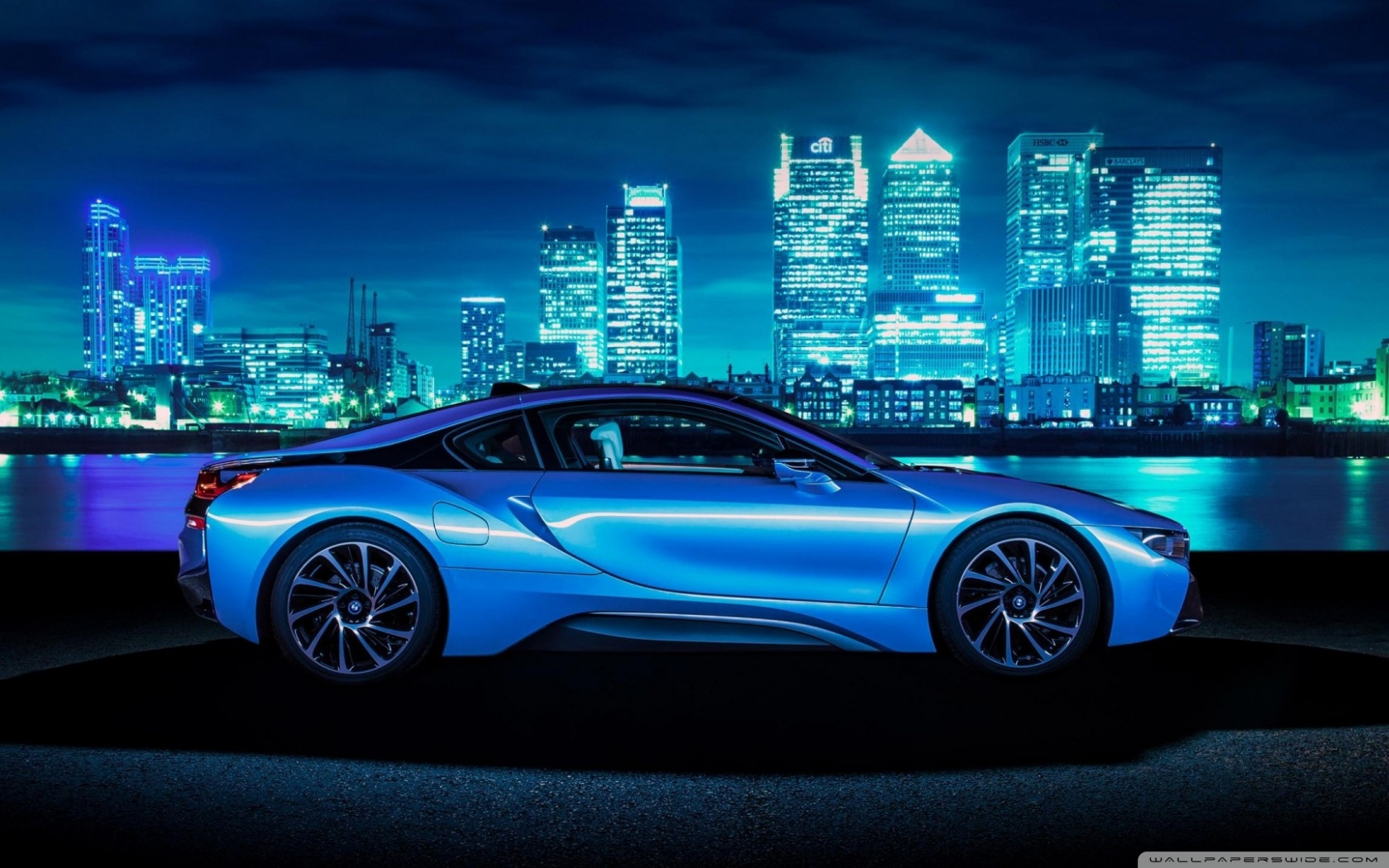 BMW i8 phone wallpaper by tetilover 1680x1050