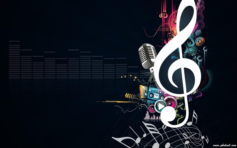 Beautiful Sign Of Music Desktop Wallpaper E Entertainment 1440x900