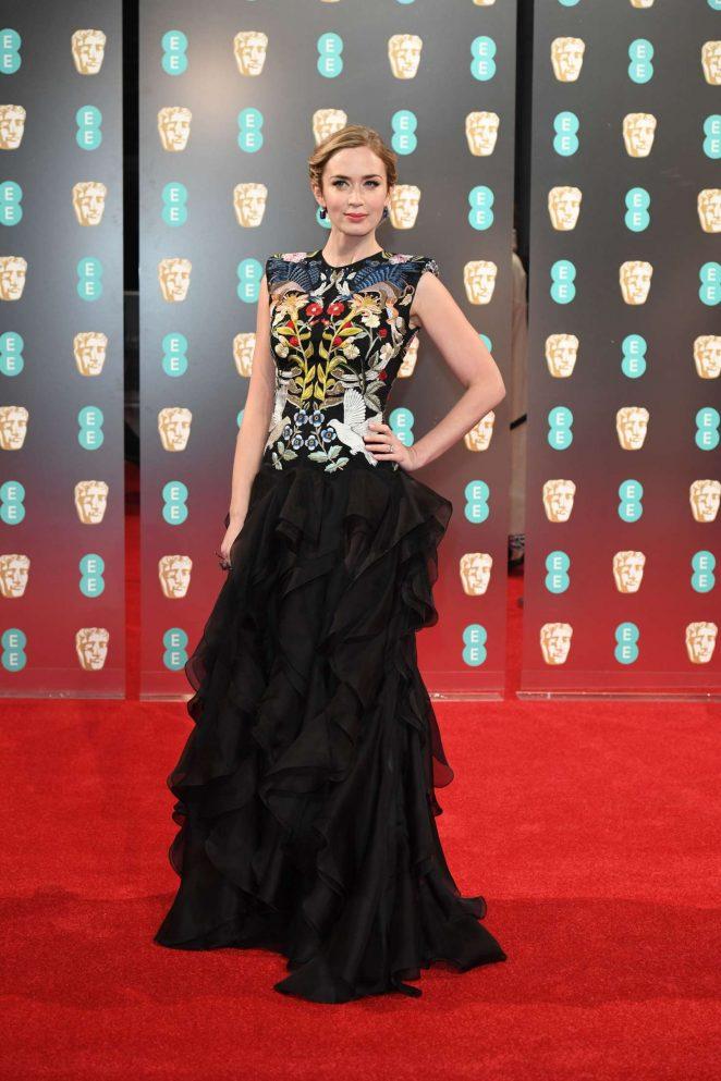 Emily Blunt 2017 BAFTA Awards  08   GotCeleb 662x993